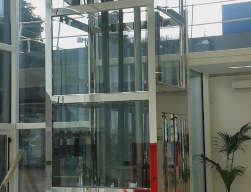 Ascensore Oleodinamico Inox Super Mirror
